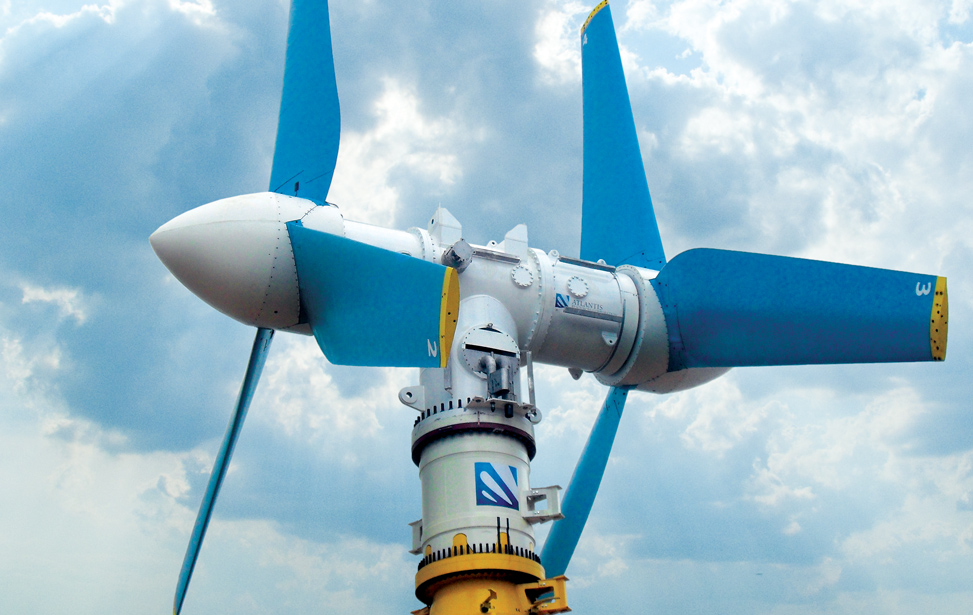 Horizontal Axis Tidal Turbine