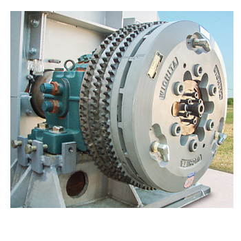 Modified Standard Ventilated Clutch for Hurricane Simulator