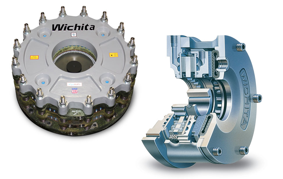 Water Cooled Clutches and Brakes
